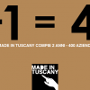Today is 2 years of Made in Tuscany. 400 companies chose to keep together.
