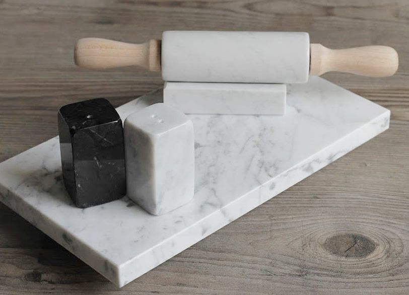 Marco danesi lavorazione marmo carrara oggettistica home decor for Designer di piani di pavimenti online