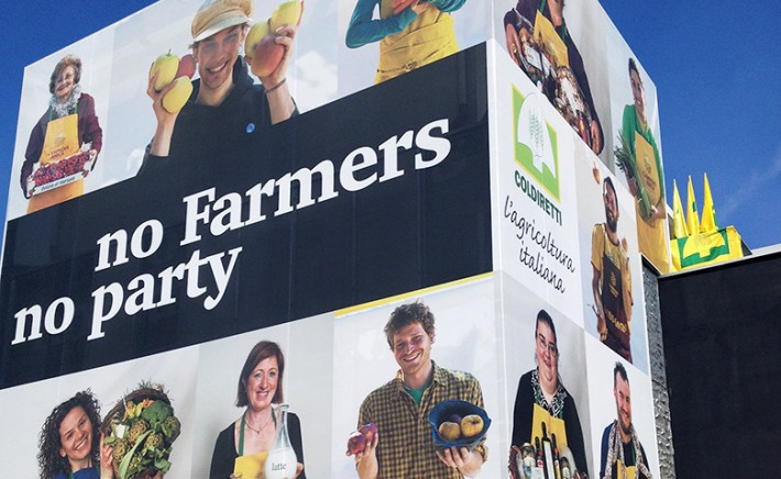 """No farmers no party"": evento speciale Coldiretti a Expo 2015"