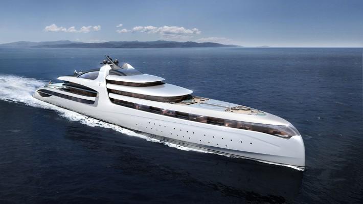 Opera del Gruppo Sea Italian di Marina di Carrara, Admiral X Force 145, è il più costoso e lussuoso yacht al mondo