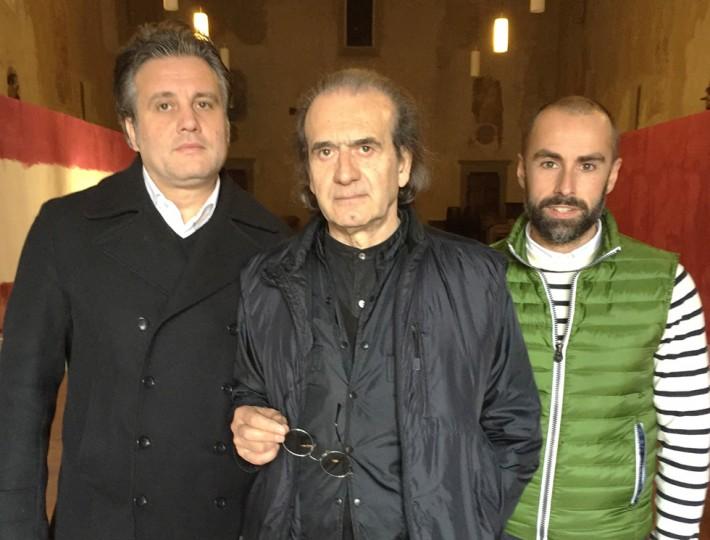 I polittici di Marco Fidolini in mostra a San Giovanni Valdarno