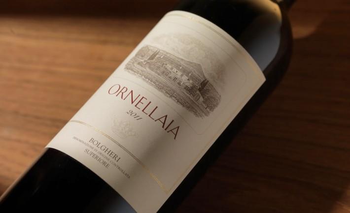 Archivio storico Ornellaia: caccia alle bottiglie più rare