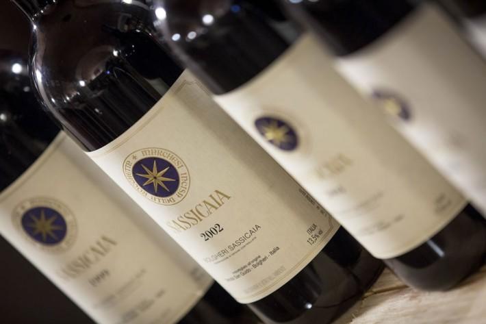 Il Sassicaia è il vino italiano più cercato sul web