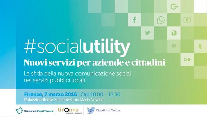 #SocialUtility: nuove forme di comunicazione a Firenze