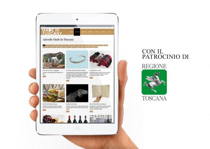 Made in Tuscany ottiene il patrocinio della Regione Toscana: l'inizio di un cammino condiviso.