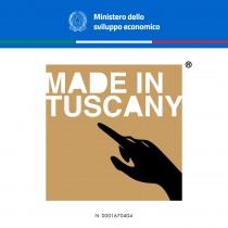 Made in Tuscany ottiene il deposito e l'approvazione del Ministero dello Sviluppo Economico della Repubblica Italiana