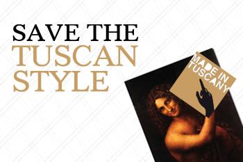 SAVE THE TUSCAN STYLE, mercoledì 24 luglio ore 21 a Villa Severi ad Arezzo