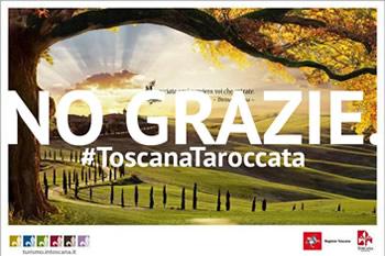 ROBA DA PAZZI! Divina Toscana, no grazie.