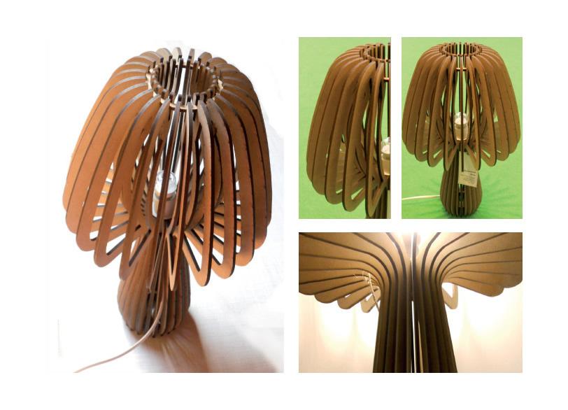 Lampada In Cartone 01lamp : Brise lamps lampada design in legno ecodesign