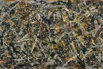 Alchimia di Pollock visibile a Firenze