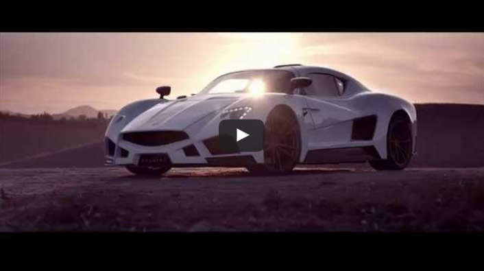 The new official video of the supercar Evantra