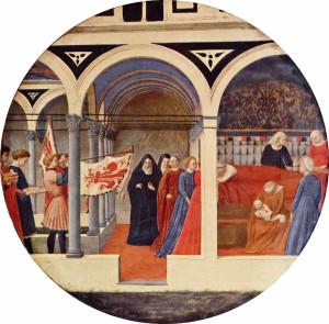 Masaccio - Desco da parto