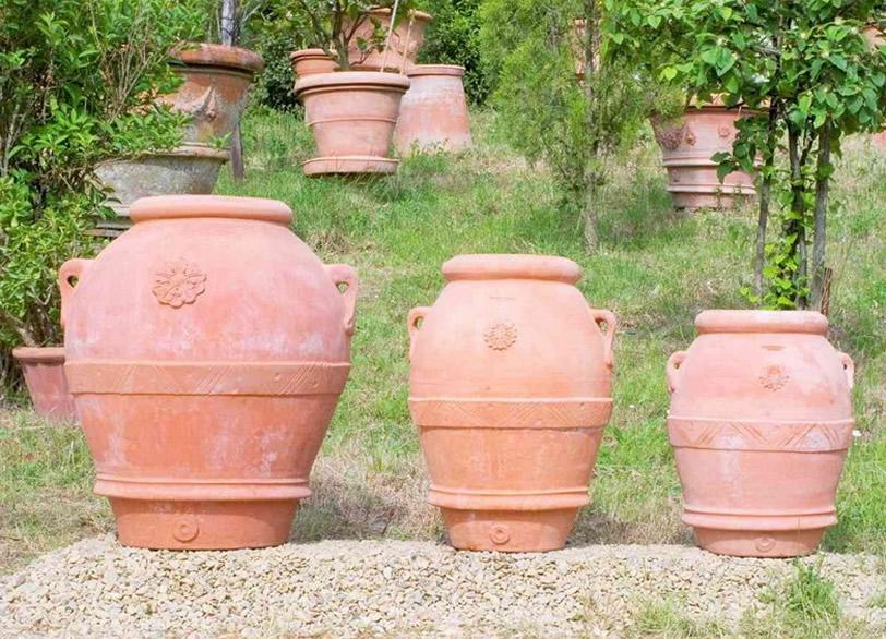 Fornace masini cotto impruneta oggetti nella classica for Masini terrecotte impruneta